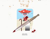 Nine Little Mushrooms // Illustrated Series