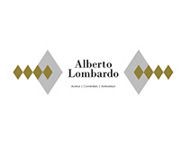 Alberto Lombardo - refonte webdesign