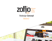 Zoffio Redesign Concept Version 2