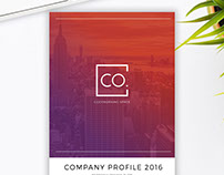 CoWork Company Profile Indesign Template