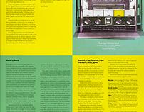Poster/Brochure Design | Kashya Hildebrand Gallery