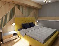 Тепла спальня