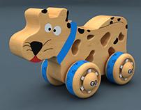 Toy Design - Design de brinquedos de madeira