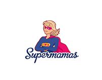 "Логотип для магазина ""Supermamas"""