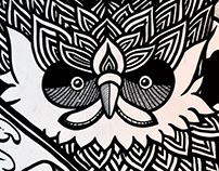 Freestyle mural for Martijn Kolman