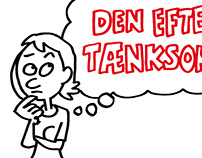 Educational drawings (Danmarks Radio)
