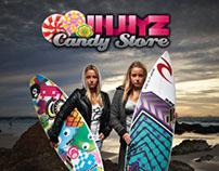 Candy Store Magazine Advertisements