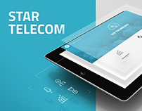 Star Telecom Site Redesign