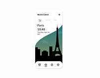 Mobile World Clock