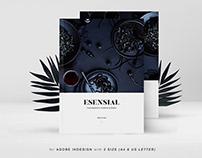 Esensial Food Magazine & Cookbook