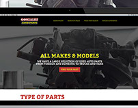 Gonzalez Auto Parts  Responsive Web Redesign