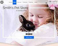 Pet Store Landing