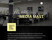 Media Mast Website Design