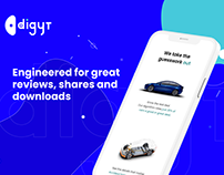 Electric Vehicle Dealer UI