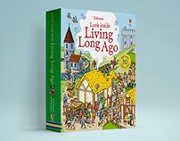 Look inside living long ago - ©2016Usborne Publishing