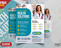 Medical Health Care AD Flyer PSD