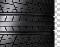 Car Tire Transition