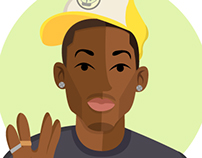Pharrell Williams Illustrations