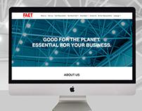 Faet Tecnologia - responsive website