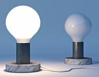 Marble based lights