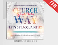 Church Way Center – Free Instagram Stories Template
