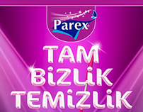 PAREX - The Moment Of Getting Dirty/TVC