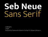 Seb Neue Typeface WIP | Free Font Download