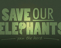 Save our elephants logo