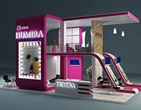 Humira Booth design
