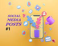 Social Media Posts #1