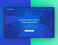 UI/UX · iFortune: Inversiones financieras online