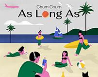 cover Single / Chum Chum : As Long As