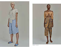 Styling & Fashion Production for Lookbook
