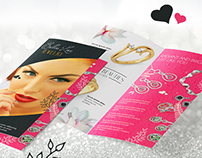 Bi-Fold Jewelry Brochure Template