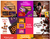 Chocolate Social Media Design