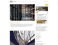 Blog Page Template - Education WordPress Theme