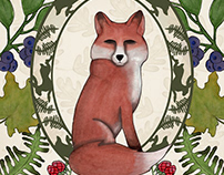 Geek Wildife - The Red Fox commission work