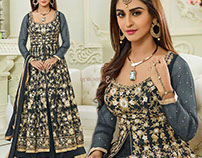 Bollywood B-Town Suit Attired By Krystle D'Souza