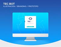 Prototipo para interfaz de usuario de chatbot