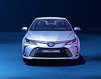 Toyota | Agumented Reality | UI/UX Design