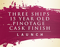 Three Ships 15 Year Old Pinotage Cask Finish Launch