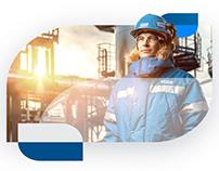 Айдентика учебного цнтра «Газпром» Калининград