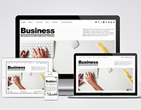 Free Simple Responsive Business WordPress Theme