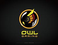 OWL gaming logo design