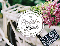 Pedal Love logo design