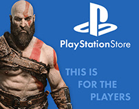PlayStationStore Main Page Redesign