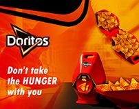 Não leve a fome com você-campanha experimental.