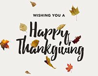 Company Digital Thanksgiving Cards