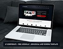 JF Corporate - FREE Joomla, JomSocial & Kunena Template