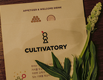 2017 Cultivatory Project Identity Design